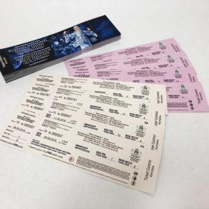 Изготовление билетов в Москве