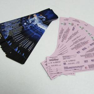 Билеты в типографии